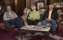 Max Miller, Shirley Tillotson, and Monte Miller